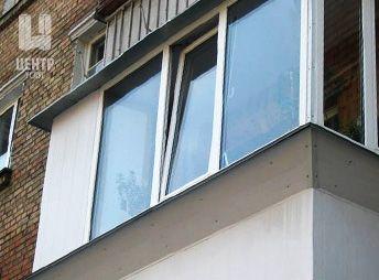 """Установка козырька на застекленном балконе. - тоо""""панорама к."""